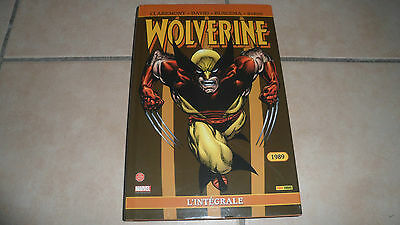 L'Intégrale Wolverine Panini 1989 - Be+