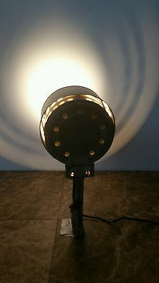 Vintage Kliegl Bros Stage Spot Light Steam Punk Tested Working With Clear Filter