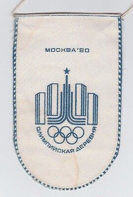 Orig.pennant   Olympic Games MOSKAU 1980  //  Special Edition  !!  RARE