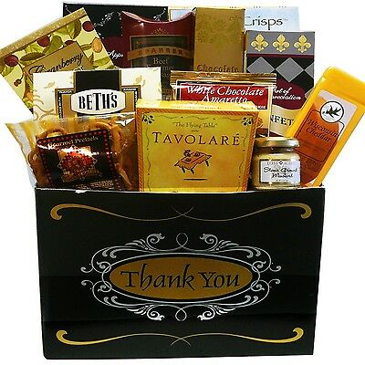 Art of Appreciation Gift Baskets Great Appreciation Thank You Gift Box One Size