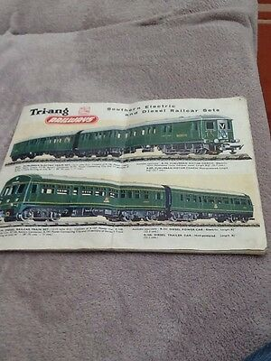 triang model railway leaflet
