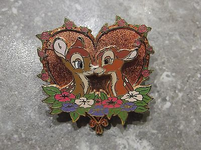 Disney Store Europe Pin Bambi And Faline Valentines