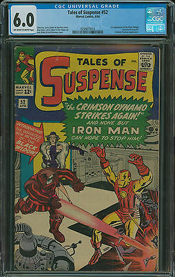 Tales of Suspense #52 CGC 6.0 1st appearanc of the Black Widow