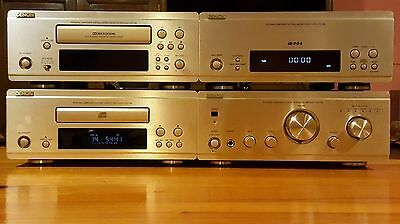 DENON HiFi set F-88 with remote control, Amplifier, Tuner and CD player + Gift
