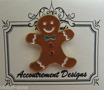 Accoutrement Designs Gingerbread Man Needle Minder Magnet Mag Friends