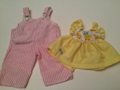 Two Vintage Real Baby Brand Doll Outfits