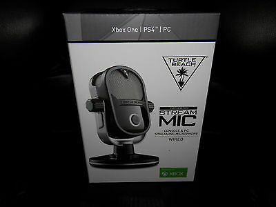 Brand New Turtle Beach Stream Mic Microphone Xbox One, Ps4, Pc (New In Box)