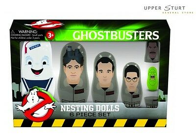 Ghostbusters - Nesting Dolls Set 6 Dolls FAST 'N FREE DELIVERY