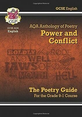 NEW GCSE English Literature AQA Poetry Guide Power and Conflict Anthology 9-1