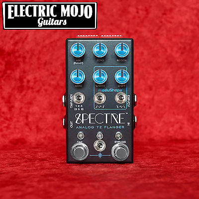 Chase Bliss Audio Spectre Blue Knob Mod Analog Flanger Pedal