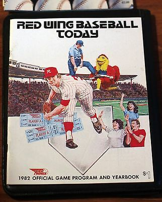 1982 Rochester Red Wings Official Program and Yearbook