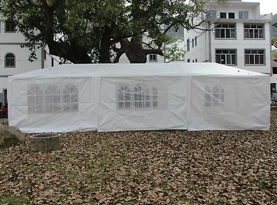 Outdoor 10'x30' Canopy Party Wedding Tent Heavy Duty Gazebo Pavilion Cater Event