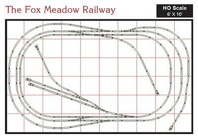 HO Kato Unitrack® Fox Meadow Layout for DC power 20% Off NEW