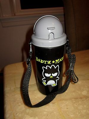 Badtz Maru Water Bottle with Carrying Strap Sanrio Hello Kitty