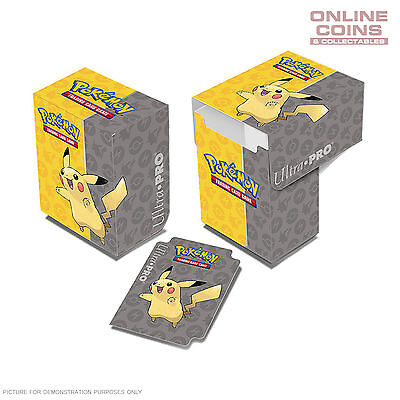 ULTRA PRO - Pokémon - Pikachu - Pokemon Full View Deck Box