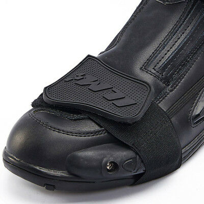 ILM Motorcycle Rubber Gear Shifter Boots Shoe Protector Shift Cover Black