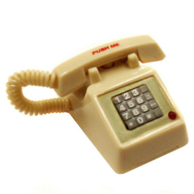"""Acme White Retro Style Phone Magnet With Ringing Sound """"Brand New"""""""