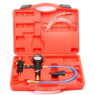 Cooling System Vacuum Purge and Refill Auto Car Van Kit For Radiator Free Ship