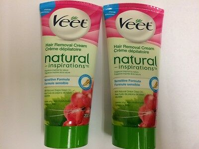 Veet - Hair Removal Cream - Natural Inspirations - 200ml x3