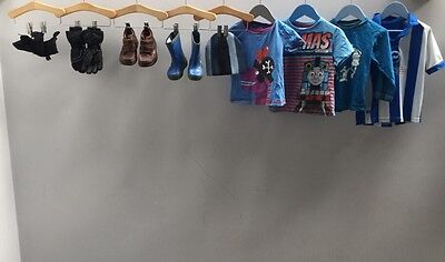 Boys Bundle Of Clothes. Age 2-3. Clarks, Thomas The Tank Engine.  A1668