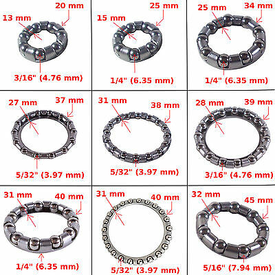 "BICYCLE BIKE BEARING Headset Bearing 5//32/""x22B 5//32/"" x 22B Fits 1-1//8/"" CUP"