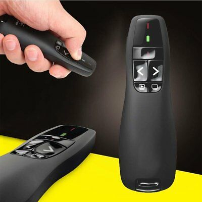 RF Presenter Computer Presentation Remote Control Clicker With Laser PPT Meeting