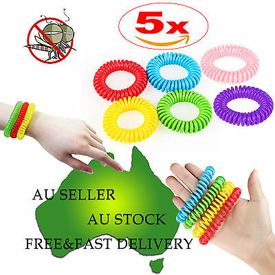 Anti toxic Mosquito Insect Repellent Wrist Band Bracelet Bug Camping Outdoor