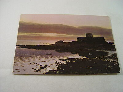 OZ1774 - Postcard - Sunset at Fort Grey, Rocquaine Bay, Guernsey 1963