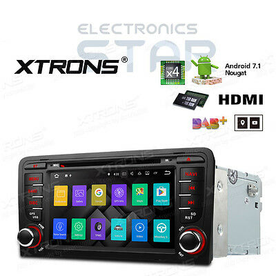 """7"""" Audi A3 S3 Quad Core Android 5.1 Car GPS Navigation System DVD Stereo DAB+ 3G"""