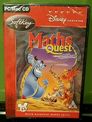 Disney Learning Maths Quest With Aladdin - PC (NEW & SEALED)