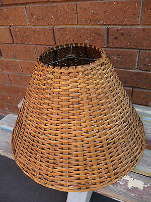 Pendant Light Shade only hanging lamp shade cane wicker