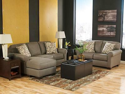 New! Microfiber Upholstery Loveseat Sofa Couch Living Room