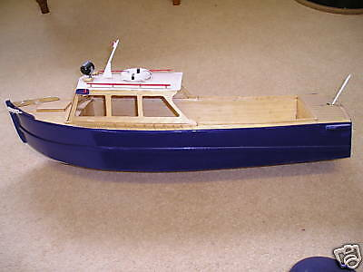 Veron  River Police Launch Model Boat Plan + Building Instuctions