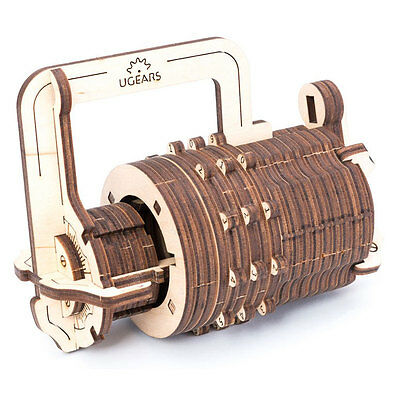 Ugears Combination Lock (Kombinationsschloß)