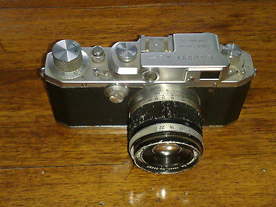 "Canon vintage fotocamera a telemetro ""copia Leica"" - Made in Occupied Japan"