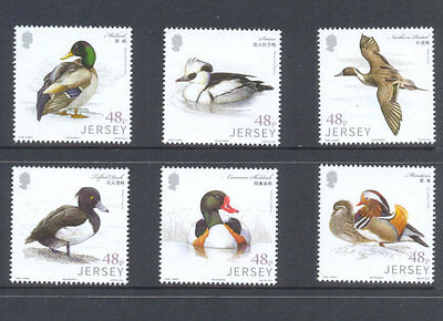 Jersey-Waterfowl Birds mnh set 2016-Links with China