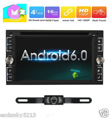 Android 6.0 Marshmallow Car Stereo GPS 3G WIFI 7'' 2Din in dash Navi DVD Player