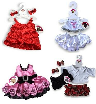 Teddy Bears Clothes Fit Build a Bear Valentine Days Clearance SALE Outfits £5.99