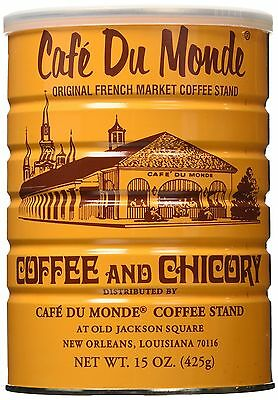Cafe Du Monde Coffee Chicory 15-Ounce (Pack of 3)