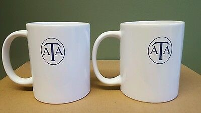 SALE! Air Transport Auxillery ATA retro/vintage mugs set of 2