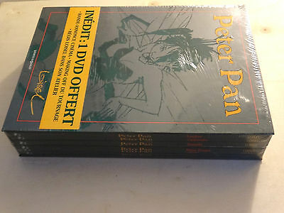 BD COFFRET PETER PAN  INTEGRALE 6 VOLUMES +dvd EO  2005 NEUF (GC40 2PC1)