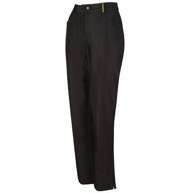 Island Green Ladies Cold Weather Golf Trousers - Black