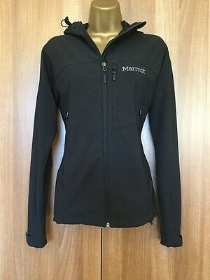 MARMOT M3 Women's Estes Black Hoody Softshell Running Jacket Medium VGC RRP £120