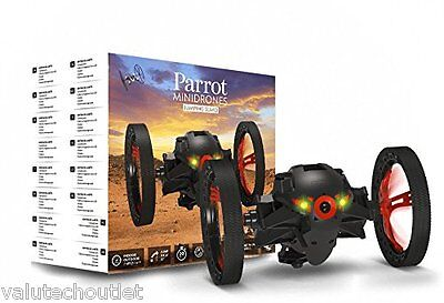 Parrot Jumping Sumo Wi-Fi Controlled Insectoid Robot With Camera (Black)