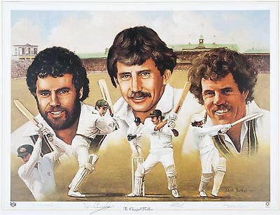 The Chappell Brothers~Clearance~ Hand Signed By All Three ~ Print By Dave Thomas