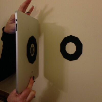 OCTO Tablet Mounting System with VELCRO® brand fastener - iPad - Tablet - Holder