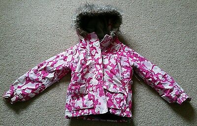 Girls Pink Tresspass Jacket Coat Age 2-3