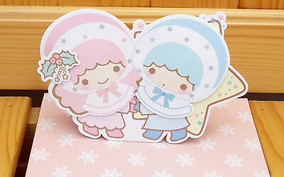Sanrio Little Twin Stars X'mas Greeting Card  Stand-Up  SR-X1525-02