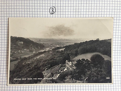 Centre View From The Rock Symonds Ya Real Photograph Postcard 1950's