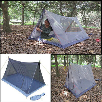 2 Person Anti-mosquito Insect Camping Tent Sleeping Net Outdoor Hiking